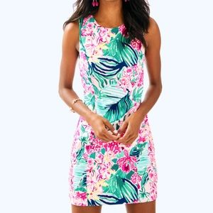 Lilly Pulitzer Mila Stretch Shift Dress 8